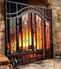 outdoor fireplace screens outdoor fireplace screens large outdoor fireplace spark screens