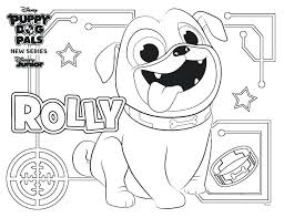 Puppy Dog Pals Coloring Pages Fresh Coloring Page A Puppy Puppy Dog
