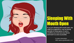 causes of sleeping with mouth open