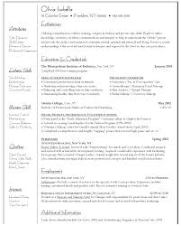 Esthetician Resume Objectives Resume And Cover Letter Resume And