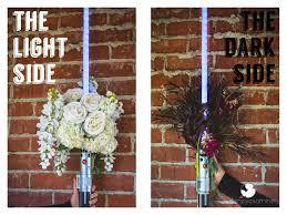 lightsaber bouquet disney diy star wars valentines day gift disneyexaminer