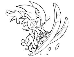 Sonic Hedgehog Coloring Pages Free Super Sonic Coloring Pages Free