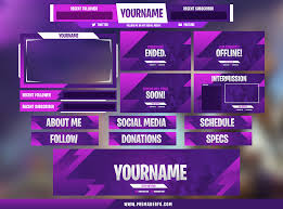 Design Twitch Banner Fortnite Twitch Pack Premadegfx Banners Twitch Fortnite