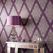 purple wallpaper feature wall jewel purple wallpaper by geometric wall  coverings by graham brown purple wallpaper