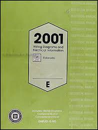 2001 cadillac eldorado wiring diagram original