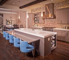 Trendy kitchen photo in Houston with stainless steel appliances