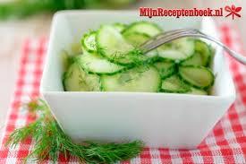 Komkommer recept