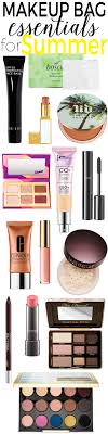 makeup bag essentials for summer keep these makeup s in your cosmetic bag this summer