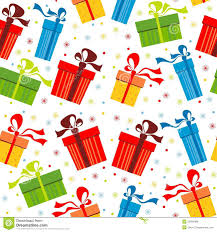 Gifts Background Background With Gifts Stock Vector Illustration Of