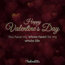 Valentines Quotes For Her 100 Valentine's Day Quotes for Your Loved Ones TheLoveBits 11