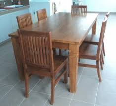 teak dining room table and chairs. Teak Wood Dining Room Table \u0026 Chairs Set Tdt-1901 And D