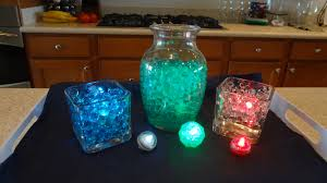 Vase lighting ideas Diy Led Submersible Lights For Your Water Beads Designs And Democraciaejustica Vase Lighting Ideas Democraciaejustica