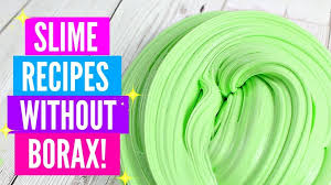 testing popular no borax slime recipes how to make slime without borax and 3 without glue