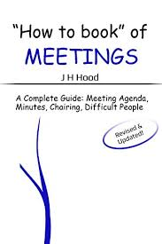 How To Write An Agenda Of A Meeting
