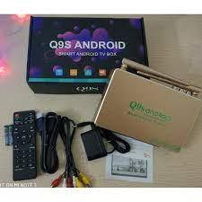 Android TV box Q9s thông minh Ram 2GB CHIP 3229 biến tivi thường thành tivi  Q9s cập nhật toàn diện phần mềm ATV 7.12