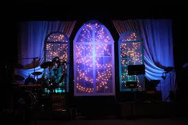 Starry Night Design Stage Design Ideas Starry Night Love Church Stage Design