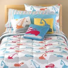 construction truck bedding construction twin bedding set