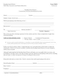 Medical Permission Letter Field Trip Forms School Consent Form ...