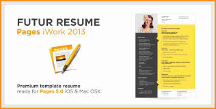 6+ iwork pages resume templates