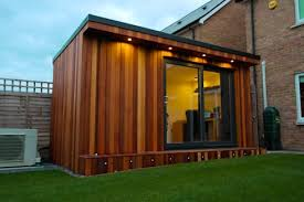 storage shed office. Garden Office With Hidden Storage Shed Built By Fortress , Surrey