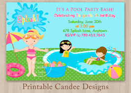 pool party invitations templates me pool party invitations templates should inspire you to make perfect invitations designs