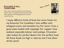 My favourite meal essay