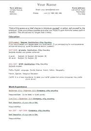 University Student Investment Banking Resume Template. University ...