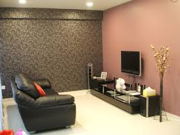 living room living room wall colors with black sofa and cushion and carpet and pink