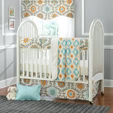 cool elephant mini crib bedding decorating trendy mini crib bedding sets simple white wooden wheels design