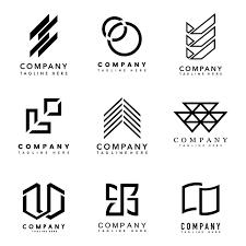 Set Of Company Logo Design Ideas Vector Vector Free Download
