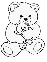 Small Picture Bear Coloring Pages 2 Color Cute Pinterest Teddy bear