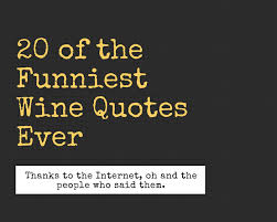 Wine Quotes Custom 48 Of The Funniest Wine Quotes Ever AGFG
