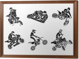 Fototapeta Motorka Tetování Collection Pixers žijeme Pro Změnu