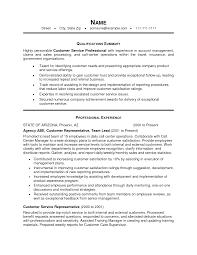 Brilliant Ideas Of Good Objective Resume Customer Service Rep