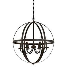 6 light chandelier indoor led candle style moroccan dark bronze 6 light chandelier
