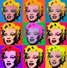 today we ve been working on producing pictures of ourselves in the style of pop artist andy warhol who uses repeated images and blocks of colour