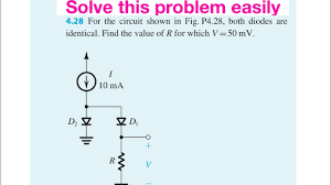 Microelectronic Circuits How To Solve Complex Diode Circuit Problems Microelectronic Circuits By Sedra And Smith Solutions