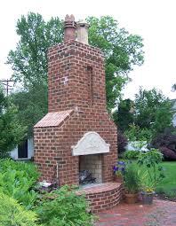 copper chimney pots on outdoor chimney
