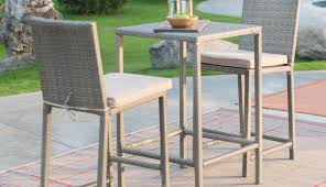 swivel patio piece round chair cover height tables plans sets amusing bar set covers and table
