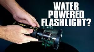 Water Light Flashlight Hydralight Review Water Powered Flashlight