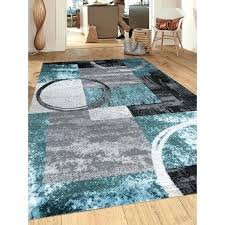 abstract circle grey blue area rug rugs gray couch