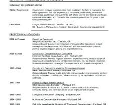 Free Construction Resume Templates Resume Template Construction Resume Templates Construction Cv