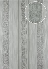 Strepen Behang Atlas 24c 5059 2 Vliesbehang Glad Met Grafisch