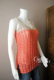 Crochet Tank Top Pattern Gorgeous Summer Crochet Projects With Free Patterns And Tutorials 48