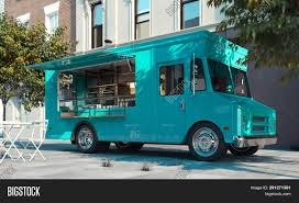 3d Food Truck Design Aquamarine Food Truck Image Photo Free Trial Bigstock