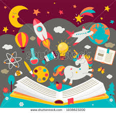 concept of kids dreams while reading the book hildren s imagination makes fairy tales real