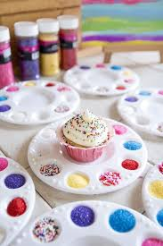 What A Cute Idea For A Childrens Birthday Party A Cupcake