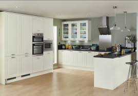 Ivory Kitchen Burford Tongue Groove Ivory Contemporary Kitchen From Howdens