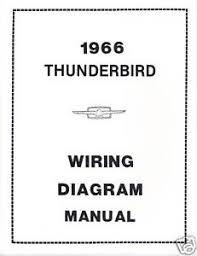 1966 ford thunderbird wiring diagram manual image is loading 1966 ford thunderbird wiring diagram manual