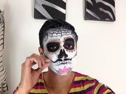 tutorial maquillaje de catrin sugar skull man makeup tutorial you